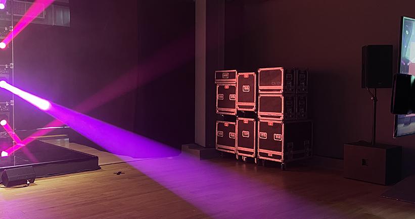 palco luci spazi